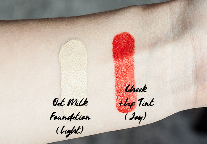 Ere Perez Makeup Swatches